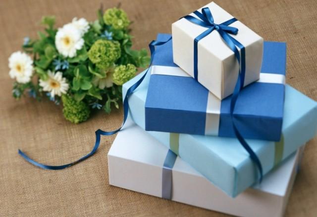 regalos azules